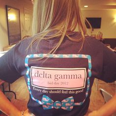 Delta Gamma, every day should feel this good