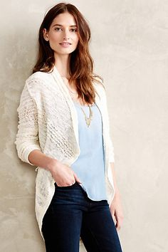 Switch-Stitch Cardigan - anthropologie.com