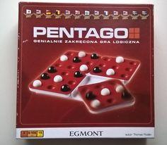 Oto nasz absolutny hit ostatnich tygodni! Gra Pentago od Egmont . Zasady są proste – ułożyć rząd pięciu kulek jednego koloru. Ale,... Gra, Nintendo Consoles, Games, Gaming, Plays, Game, Toys