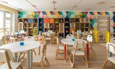 Елена и Кирилл Чебурашкины придумали комплект мебели, с помощью которой решили массу проблем типового детского сада.