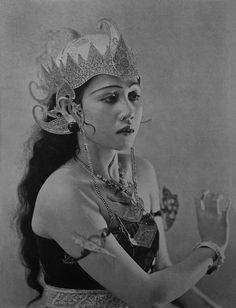 Devi Dja, 1940- The Pavlova of the Orient from Devi Dja's Bali Javanese Cultural Dancers book