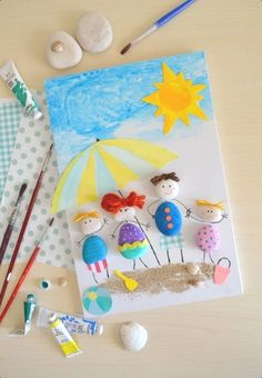 Best way to travel around italy. best way to travel around italy painting for kids, easy crafts, diy crafts for Craft Activities, Preschool Crafts, Kids Crafts, Diy And Crafts, Arts And Crafts, Paper Crafts, Stone Crafts, Rock Crafts, Summer Crafts For Kids