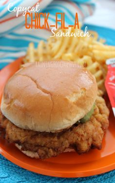 Copycat Chic-Fil-A Chicken Sandwiches