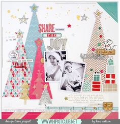 #papercrafting #scrapbook #layouts: by kjstarre