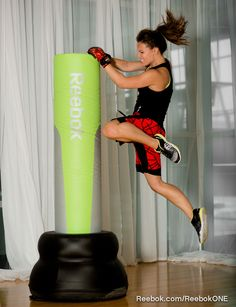 Kick some serious (invisible) butt in #BODYCOMBAT with #Reebok's great workout shorts.