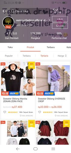 Best Online Stores, Online Shopping Stores, Online Shop Baju, Kebaya Hijab, Sunset Photography, Thrifting, Stylish, Womens Fashion, Casual