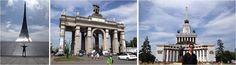 Monumento a los conquistadores del espacio-Centro Panruso de Exposiciones