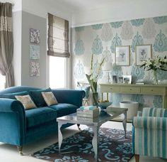 Tips Memilih Wallpaper Ruang Tamu Http Www Rumahidealis