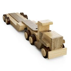 Wooden Toy Trucks, Wooden Toys, All You Need Is, Woodworking Projects For Kids, Wood Projects, Wood Toys Plans, Road Construction, How To Make Toys, Peterbilt