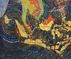 Tsunami, Paula Scher, 2006
