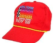 Raynor Racing Team Indy Cap - 1988 in red. #Indy500