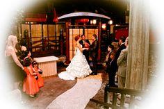 Las Vegas wedding at Benihana Village