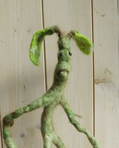 Bowtruckle. Fantastic beasts,needle felted sculpture by WaggledanceArt on Etsy