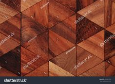wooden triangle texture as nice natural background