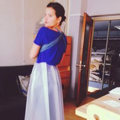 Dacron skirt fitting Couture, Purple, Instagram Posts, Skirts, Projects, Bags, Fashion, Haute Couture, Purses