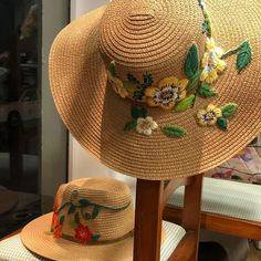 Embroidered Hats, Sombreros
