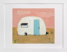 modern day camp out by Anna Swanson Kamburis at minted.com