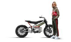Die französische Custom-Garage Jambon-Beurre Motorrad will nun High Fashion und Higg Speed mit dem Motorrad Gloria kombinieren.