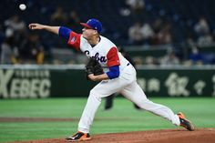 TOKYO, JAPAN - MARCH 10: Starting Pitcher Lazaro Blanco #79 of Cuba throws in the top of the second inning during the World Baseball Classic Pool B Game Five between Australia and Cuba at the Tokyo Dome on March 10, 2017 in Tokyo, Japan. (Photo by Matt Roberts/Getty Images)