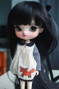 Custom Pullip Yeolume  #doll #custompullip #faceup #customizeddoll #yeolume #pullip #umamibaby #artdoll