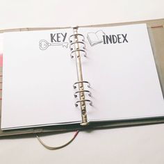 Setting up Bullet Journal for New Year - Infinite Planner Bullet Journal Index Page, Planner Bullet Journal, How To Bullet Journal, Organization Bullet Journal, Bullet Journal Printables, Bullet Journal Junkies, Bullet Journal Layout, Bullet Journal Inspiration, Bullet Journals