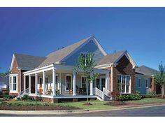 Eplans Colonial House Plan - Poplar Grove from The Southern Living