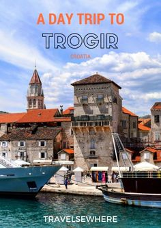 A Peaceful Day Trip to Trogir from Split, Croatia via @travelsewhere