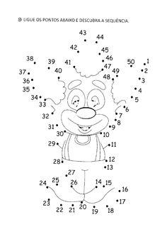 Resultado de imagem para exercícios de multiplicação combinatória com palhaços Dot To Dot Printables, Free Pdf Books, Planner Stickers, Dots, Snoopy, Activities, Fictional Characters, Worksheets, Count