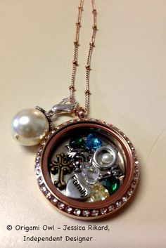 "Mother's Day Origami Owl Living Locket - my Mom calls this one her ""family"" locket!  jessicarikard.origamiowl.com"
