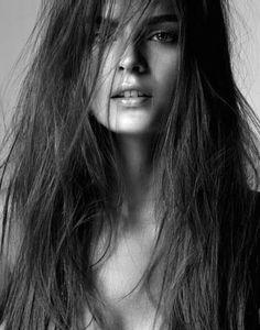 black & white photo