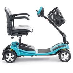 Li-Tech Air Lithium - Light Pavement Scooter in Teal Electric Cars, Super Powers, Cars And Motorcycles, Baby Strollers, Mobility Scooters, Teal, Wheelchairs, Technology, Pavement
