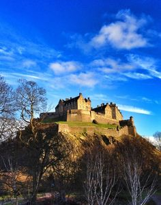 Edinburgh Castle.  Ever since seeing the movie Once, I'm dying to go here.