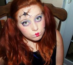 scary china doll | fun with face paint | Pinterest | China dolls ...
