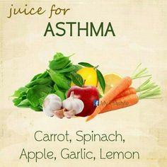 Asthma affects millions of people and is a serious medical problem. If you're suffering from asthma related symptoms and you want to learn how to get better, Asthma Relief, Asthma Symptoms, Fitness Workouts, Detox Drinks, Healthy Drinks, Detox Smoothies, Healthy Juices, Healthy Foods, Fruit Smoothies