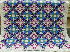 Bonnie Hunter En Provence mystery quilt by Margaret Kennedy.