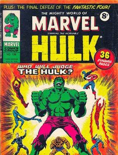 Mighty World of Marvel #136, Trial of the Hulk