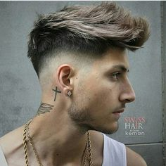 Pin by Hairstyles on Hairstyles For Men in 2019 Cool hairstyles slope cutting hair style - Hair Cutting Style Quiff Hairstyles, Cool Hairstyles For Men, Haircuts For Men, Men's Haircuts, Men Haircut Names, Hairstyles 2018, Latest Hairstyles, Braided Hairstyles, Hair And Beard Styles