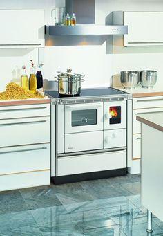 Küchen-Hexe | Küchenhexe | Küchenofen | Holzofen | Festbrennstoffherd | Landhausherd