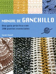 MANUAL DE GANCHILLO libro | Crochet book