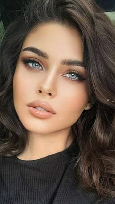 Most Beautiful Eyes, Stunning Eyes, Gorgeous Eyes, Pretty Eyes, Gorgeous Women, Beautiful Women Pictures, Beautiful Girl Image, Belle Silhouette, Cute Girl Face