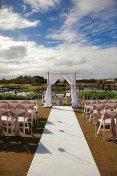 This is what our ceremony will look like
