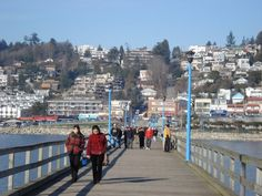On the pier in White Rock BC Beautiful Places To Live, Great Places, Places Ive Been, 2010 Winter Olympics, Quebec City, Vancouver Island, Pacific Coast, Life Goals, British Columbia