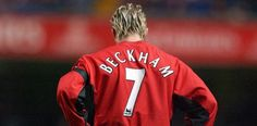 And it's not all down to David Beckham. Lucky 7, Lucky Number, David Beckham Football, David Beckham Manchester United, Bryan Robson, Eric Cantona, Plus And Minus, Sports Pictures, Best Player