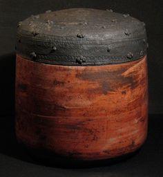 boite raku, karin Dessag. www.karindessag.fr   #raku #ceramic