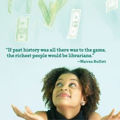 Library quote from Warren Buffet. If you like this quote please repin it.