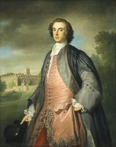 1754 Attributed to George Knapton A Graduate of Merton College, Oxford, Lord Spencer, Chrysler Museum, King Picture, 18th Century Clothing, National Gallery Of Art, Historical Art, Period Costumes, Classical Art, Beautiful Paintings