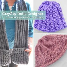Meet the Charitable Pattern Designer Who Knits for Those In Need. Click: http://www.craftsy.com/ext/Pin_BP_20121113
