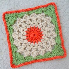 "Kata square 9.5""/12"" (pattern)"