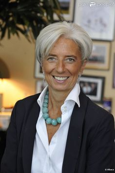Christine Lagarde  born 1 January 1956, is a French lawyer and Union for a Popular Movement politician who has been the Managing Director (MD) of the International Monetary Fund (IMF) since 5 July 2011. Lagarde was the first woman ever to become finance minister of a G8 economy, and is the first woman to ever head the IMF.