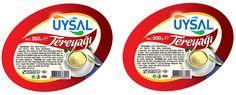 uysal gıda kurumsal kimlik tasarımı kapsamında tereyağı etiket tasarımı & bobin etiket basımı